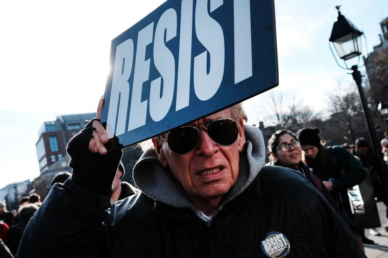 Image: Protestors Rally In New York In Solidarity With National General Strike