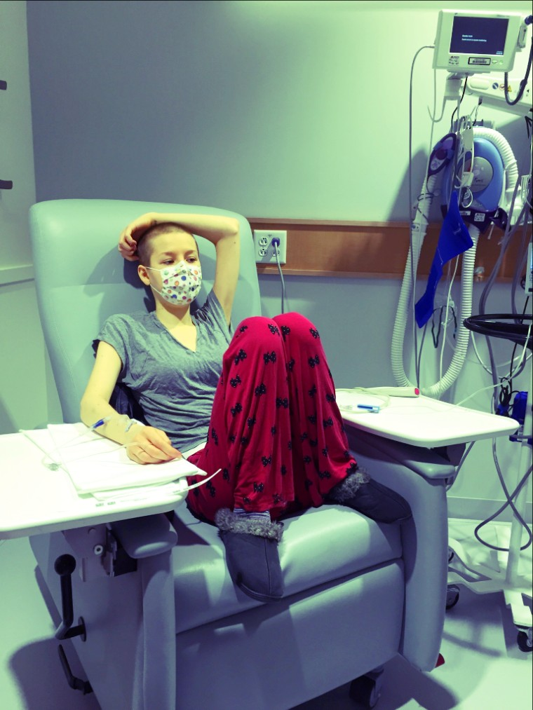 Johanna Watkins has mast cell activation syndrome, which makes her allergic to almost everything.