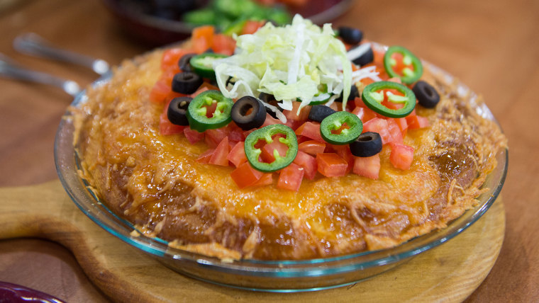 Siri Daly's recipe for taco pie casserole