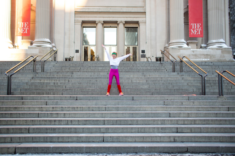 "The ""Museum Workout"" at the Metropolitan Museum of Art"