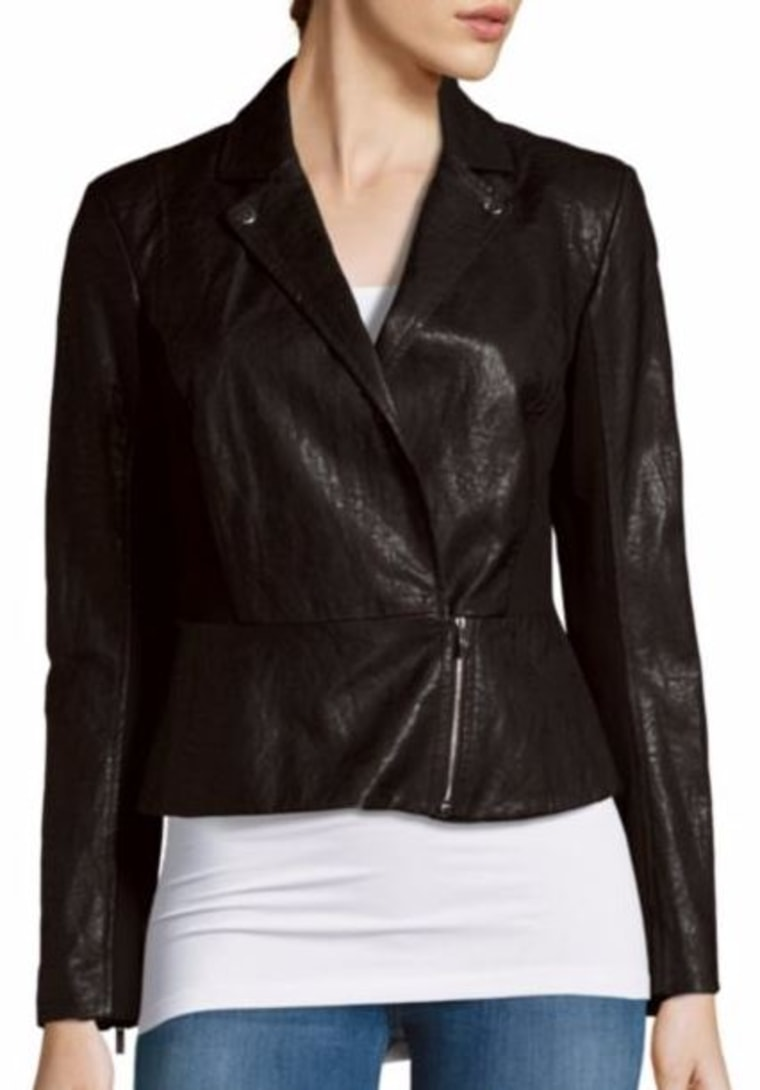 Long Sleeve Moto Jacket