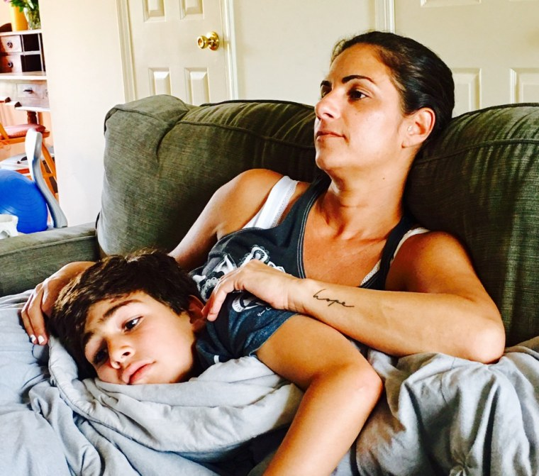 """""""Cooking with Leo"""" author Erica Daniels with son, Leo"""