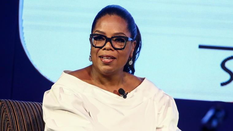 Oprah Winfrey at an event in Johannesburg, South Africa, in December.