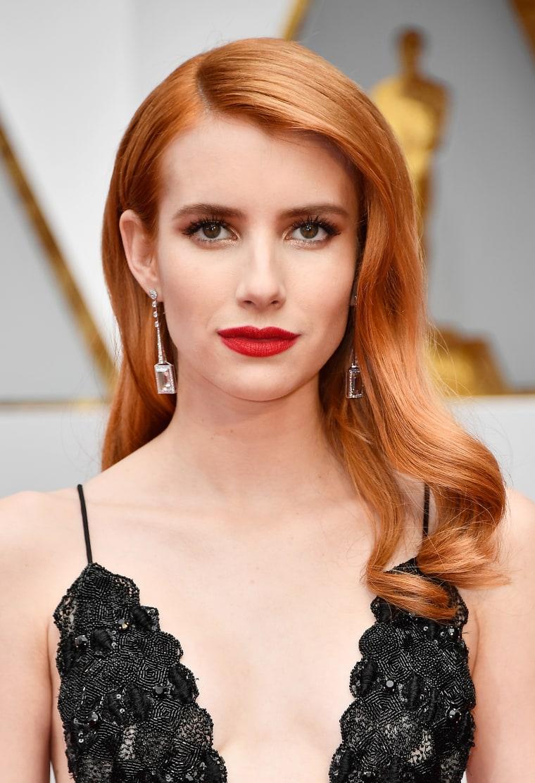 Emma Roberts Oscars red carpet 2017