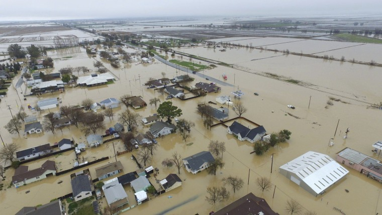 IMAGE: Flooding in Maxwell, California