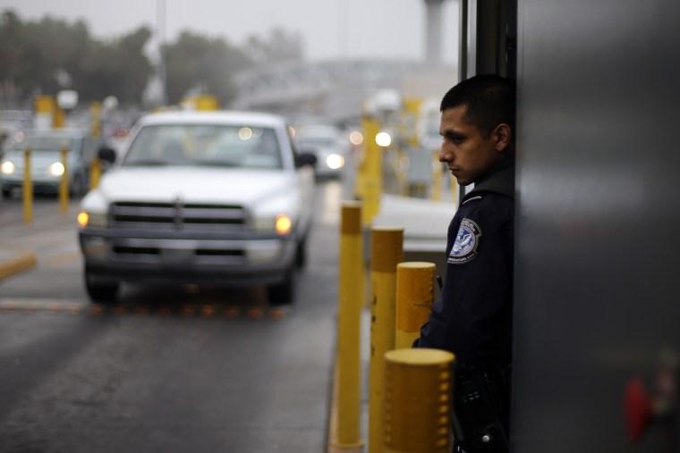 IMAGE: San Ysidro Border Crossing