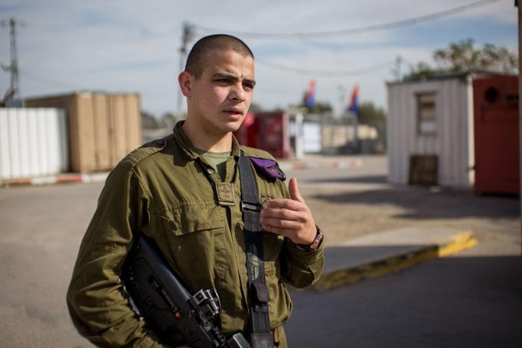 Image: Sgt. Saleh Halil serves in the IDF's Givati Brigade