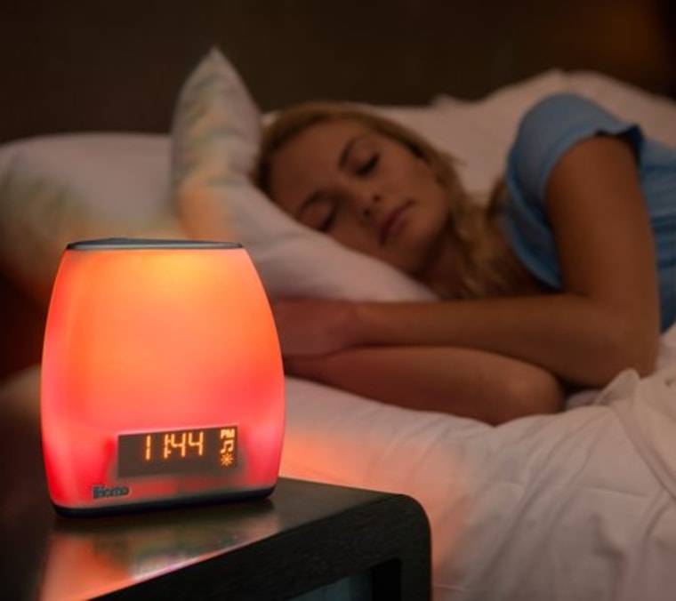 The Zenergy sleep therapy machine is an alarm clock with built-in light and sound therapy features designed to work with your circadian rhythm.