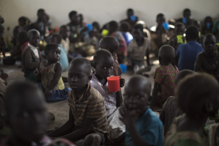 Image: South Sudanese Refugees Continue To Cross Into Uganda