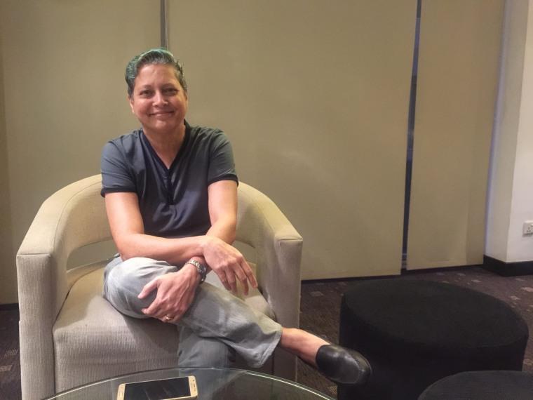 Sri Lankan LGBTQ activist Rosanna Flamer-Caldera, founder of Equal Ground