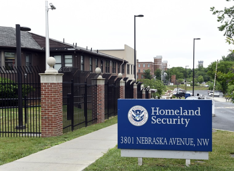 The Homeland Security Department headquarters in Washington is seen in this photo taken June 5, 2015.