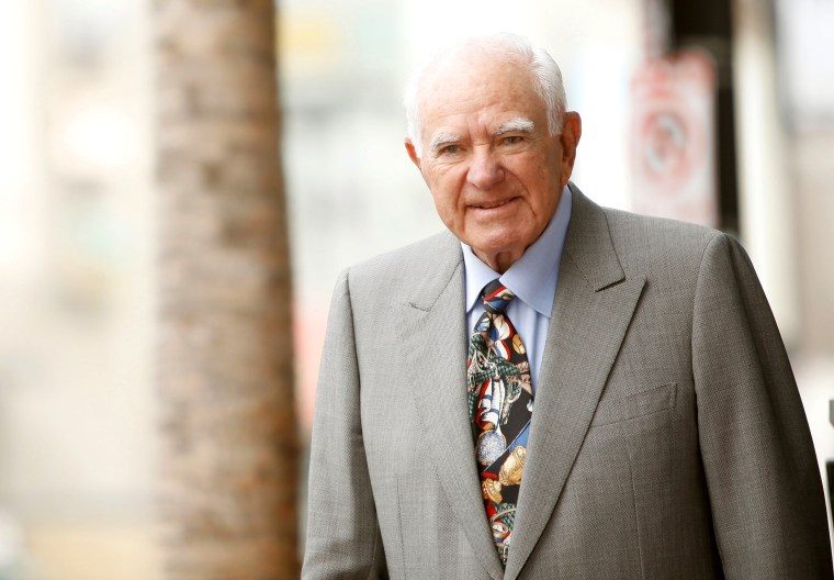 Image: Judge Joseph A. Wapner attends his 90th Birthday celebration and honoring him with a Star on The Hollywood Walk of Fame held on Nov.12, 2009 in Hollywood, California.