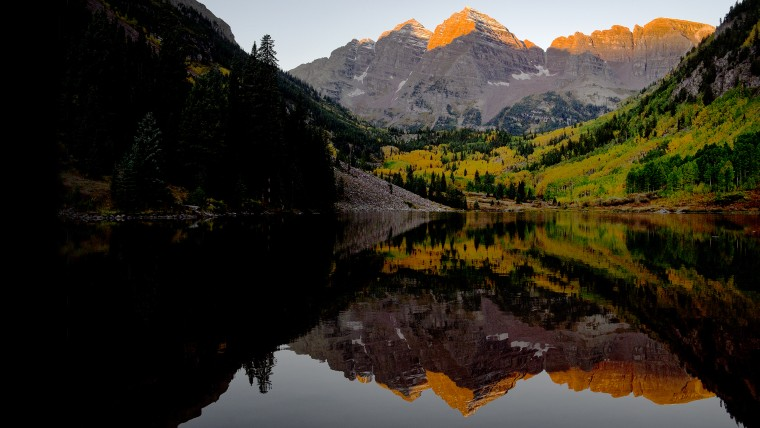 Maroon Bells during the Fall