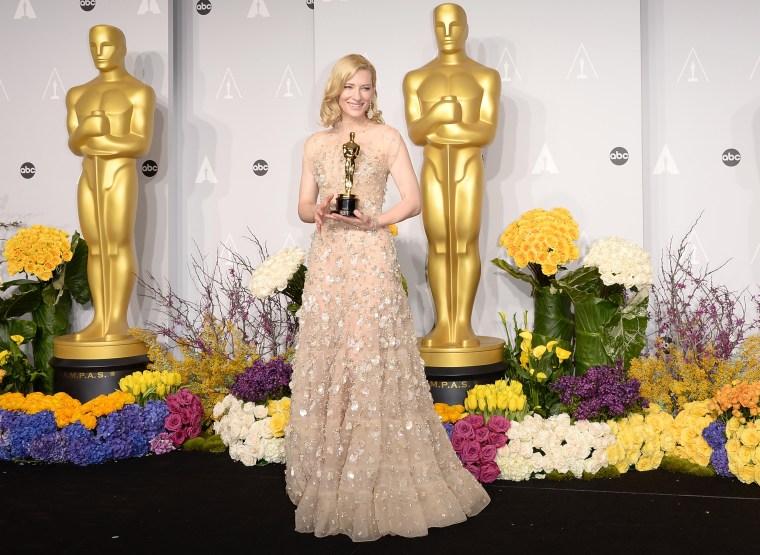 Cate Blanchett Oscars Dress
