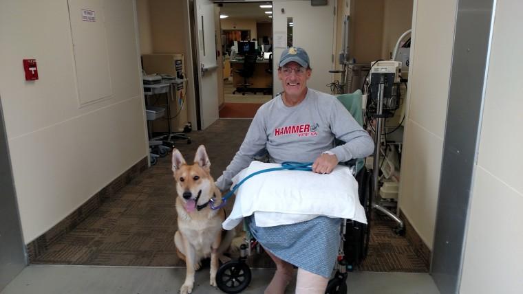 Warren Muldoon and Dakota are reunited at the hospital.
