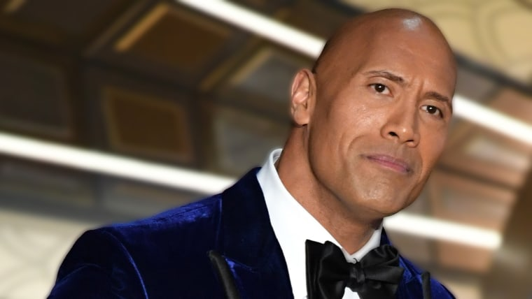 Dwayne Johnson speaks onstage during the 89th Annual Academy Awards