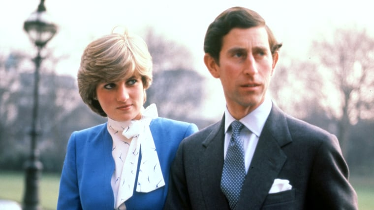 Prince Charles and Princess Diana in London