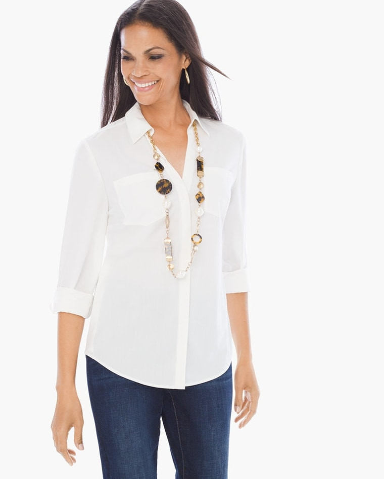 Silky Relaxed Shirt