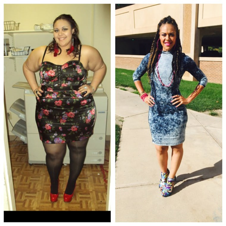 "After being told she was ""too big"" to qualify for health insurance, Brittany Horton changed her diet and started exercising. After three years, she lost 208 pounds, transforming her life."