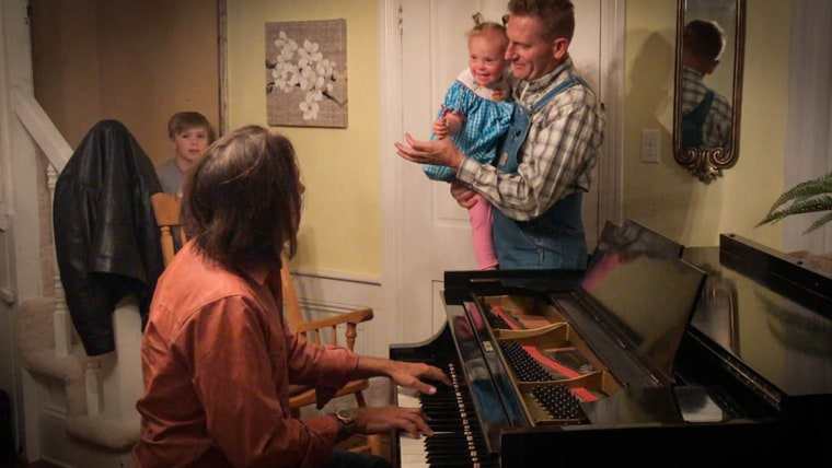Rory Feek and his daughter Indy.
