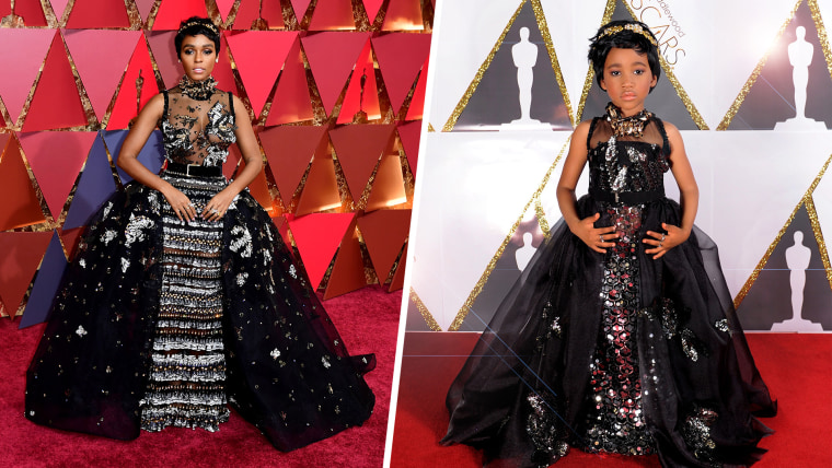 Mini Janelle Monae's Toddlewood Oscars look