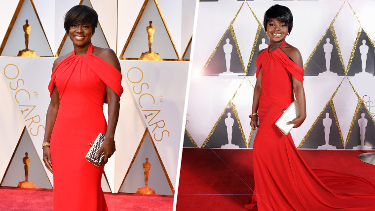 Mini Viola Davis' Toddlewood Oscars look