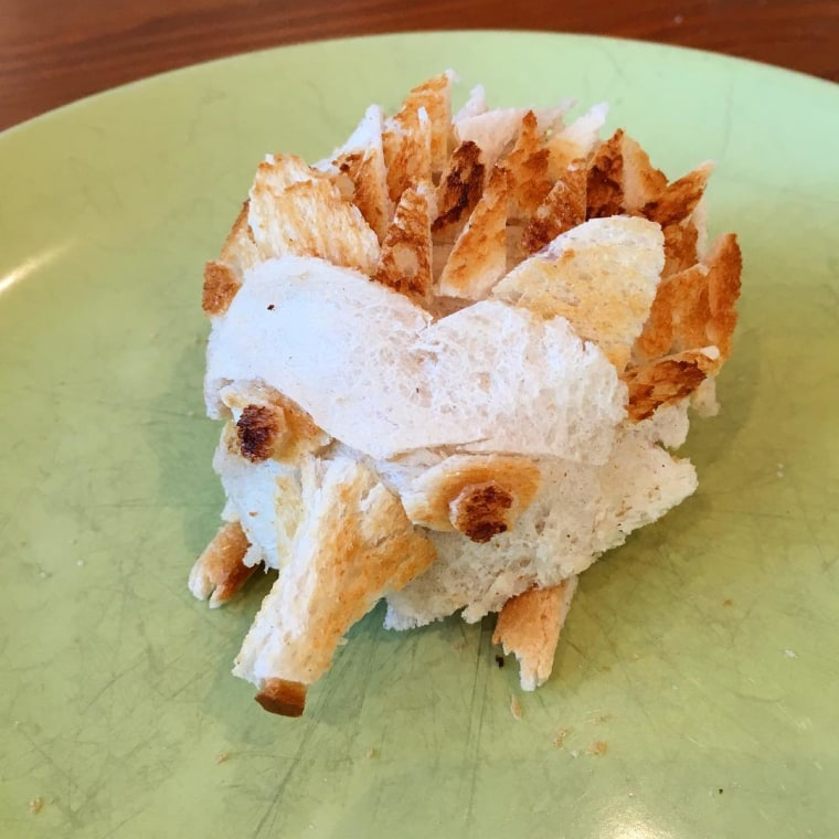 """Toast """"hedgehog"""""""