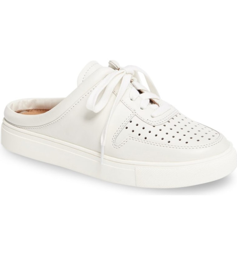 Perforated Slide Sneaker