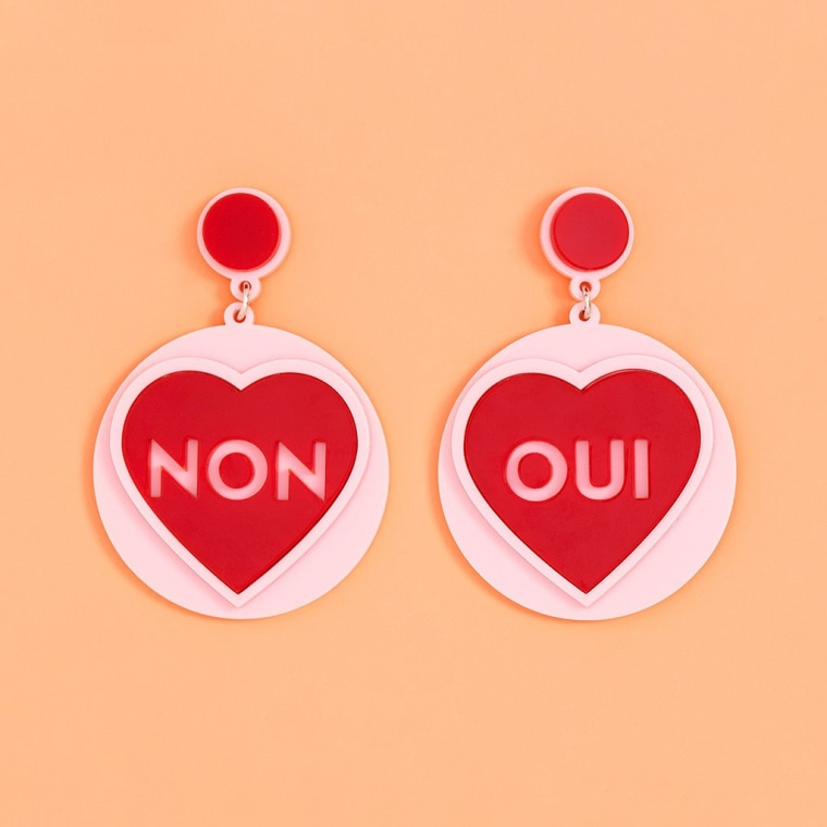 Oui Non Earrings