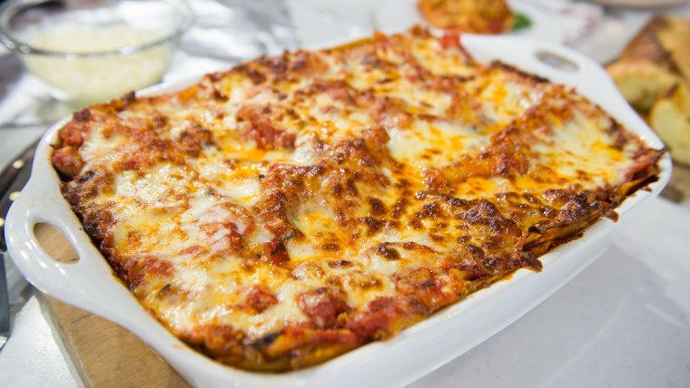 Al Roker's Vegetable Lasagna