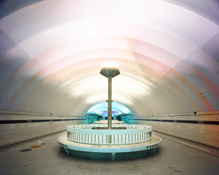 These Pics Of Russian Subway Stations In The Middle Of The