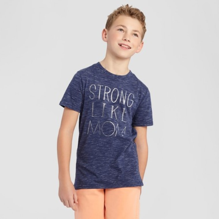 """Strong Like Mom"" T-shirts at Target"