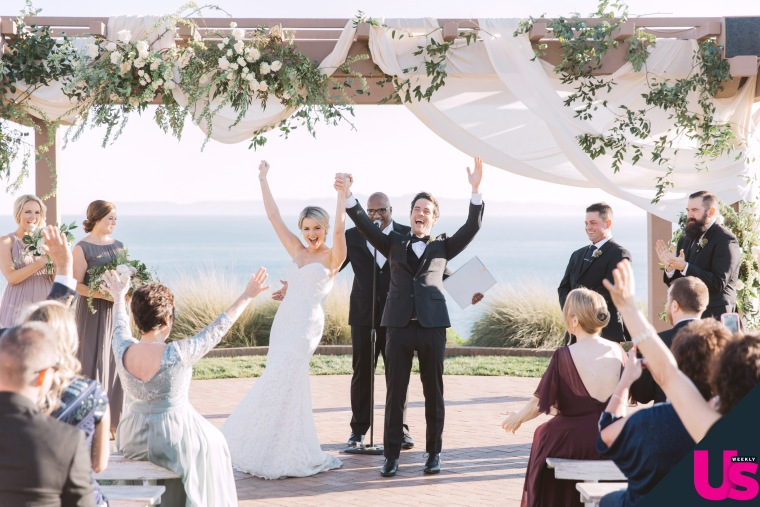 Ali Fedotowsky married her fiance, Kevin Manno