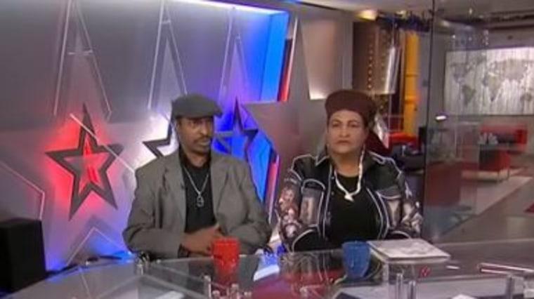Muhammad Ali, Jr and Khalilah Ali