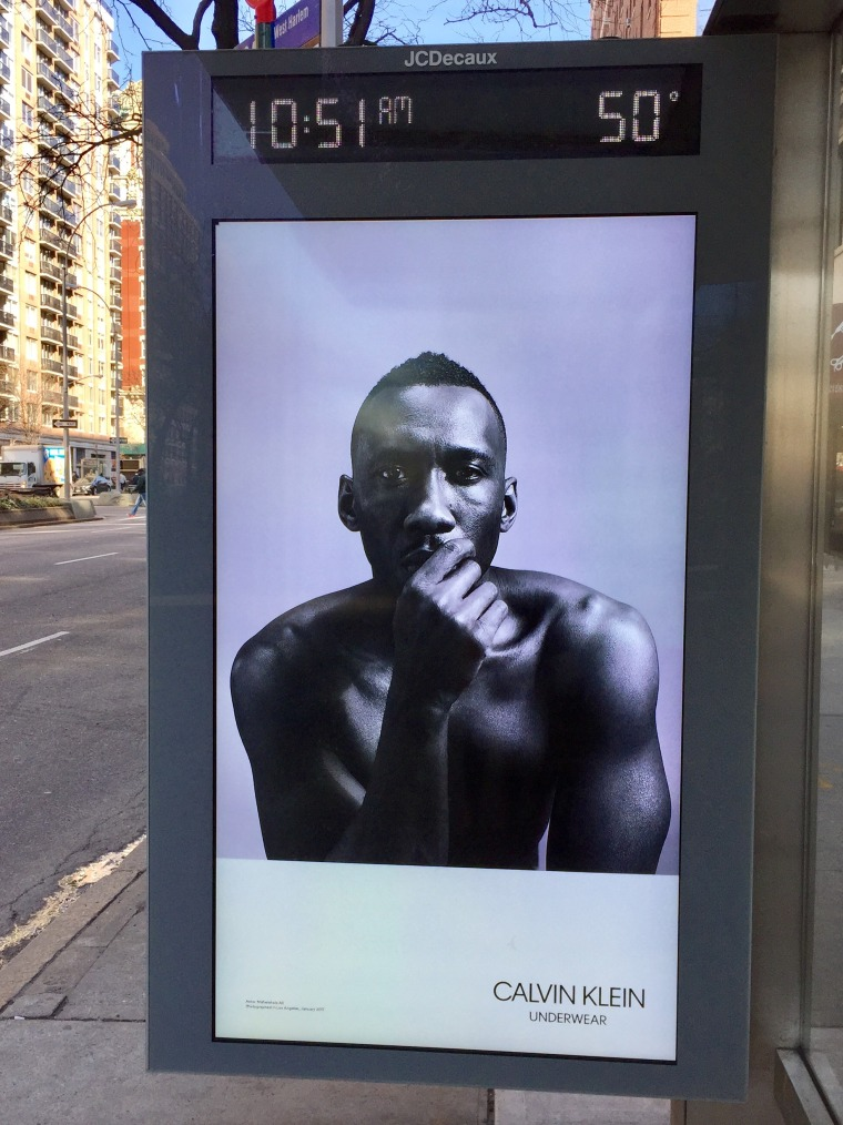'Moonlight' actor Mahershala Ali appears in a new Calvin Klein ad