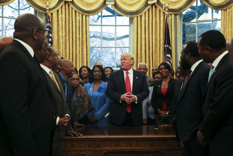 Image: Trump meets with the Historically Black Colleges and Universities