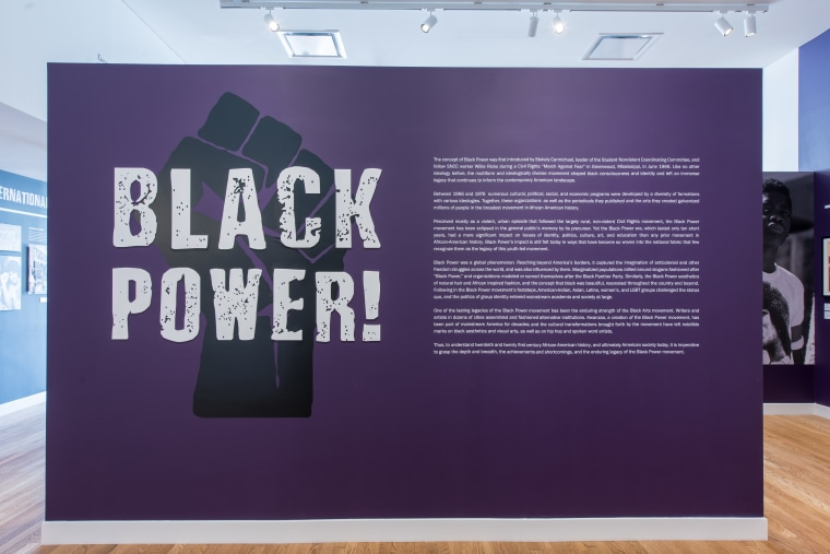 "Schomburg Center's ""Black Power"" exhibition."