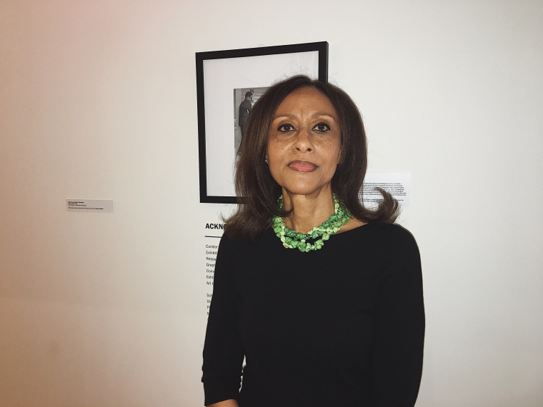 "Curator of Schomburg Center's ""Black Power"" exhibition, Dr. Sylviane A. Diouf."