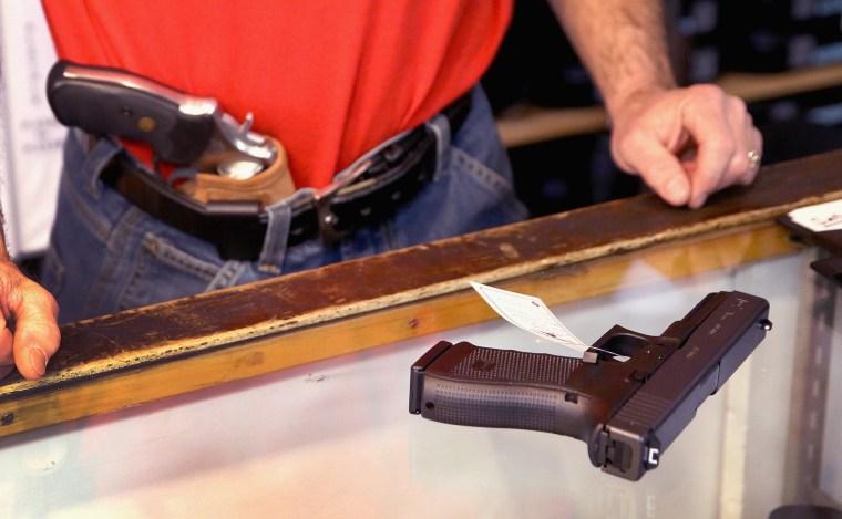 Image: U.S. Firearm And Ammunition Sales Drop