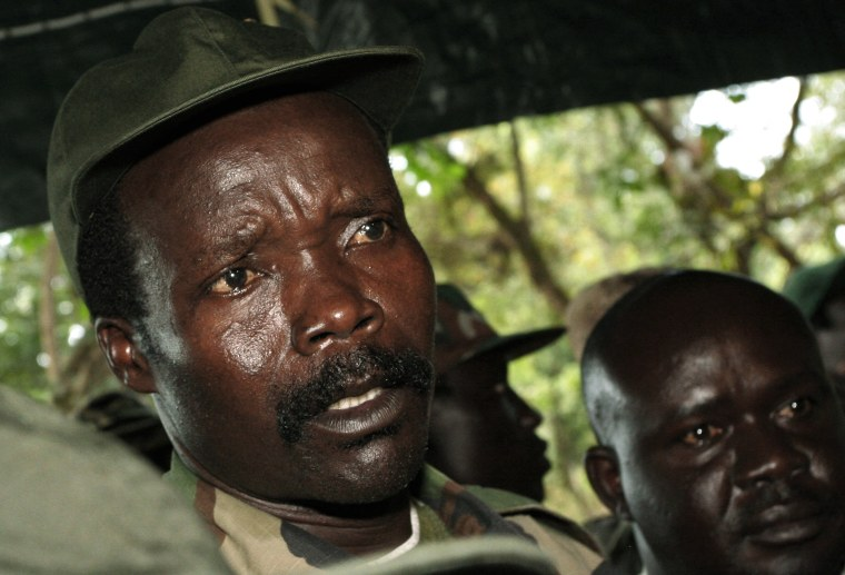 Image: File photo of the leader of Lord's Resistance Army Joseph Kony in 2006