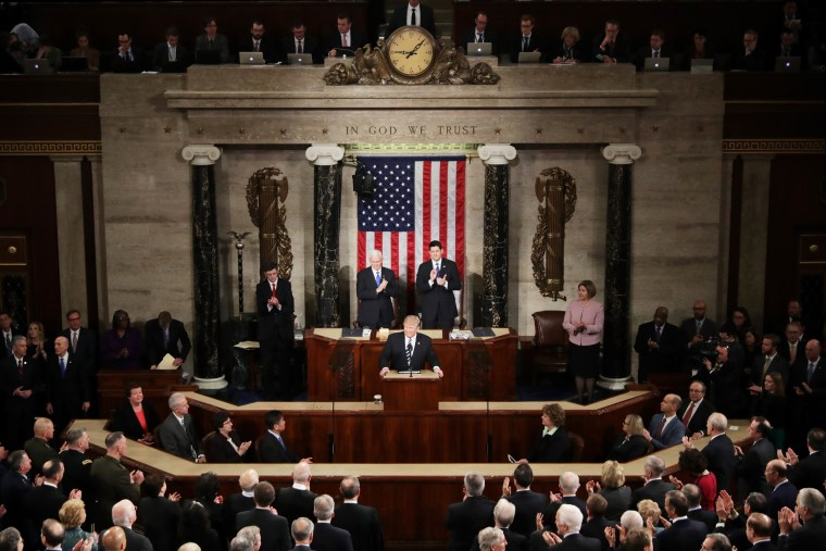 Trump Ratings in First Address to Congress Don't Beat Obama