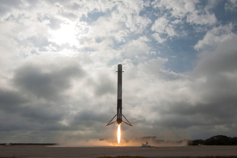 Image: SpaceX Falcon9 ISS Supply Mission Launch