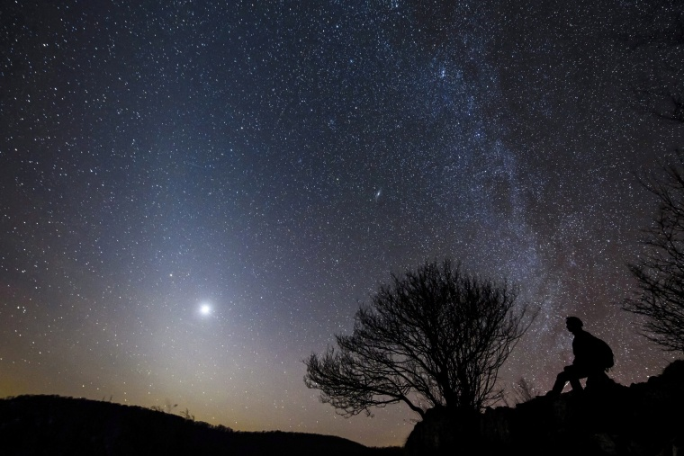Image: Zodiacal light in Hungary
