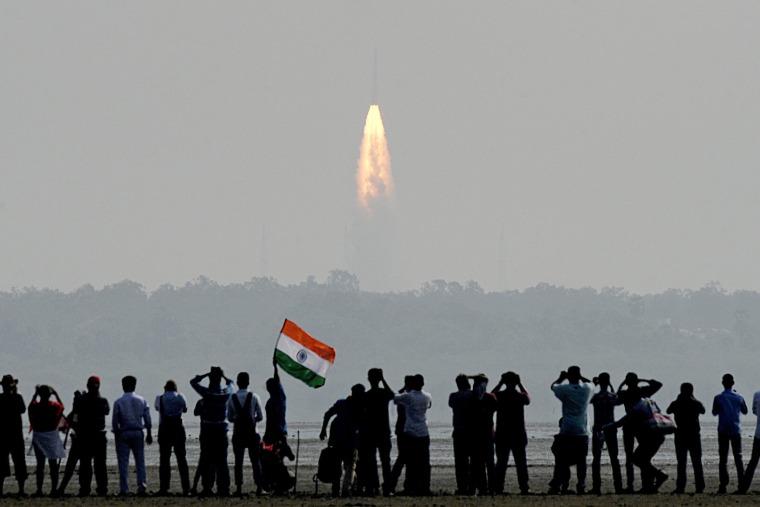 Image: INDIA-SPACE-SCIENCE-SATELITE