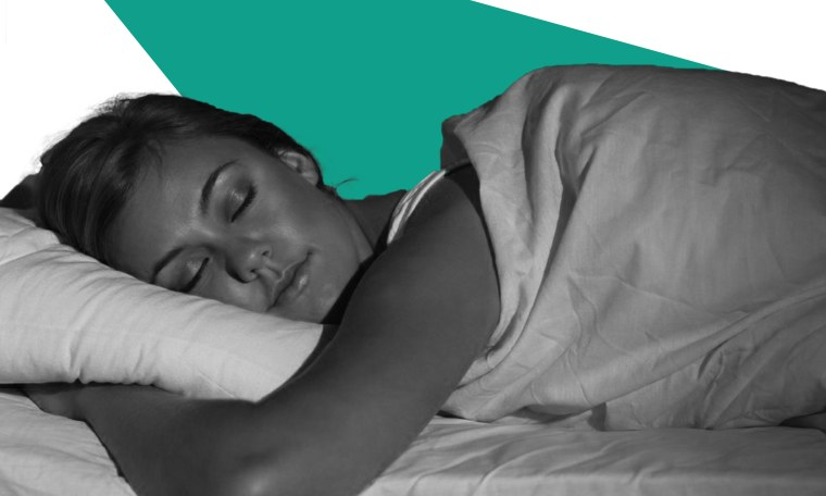 Image: Woman sleeping