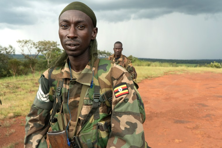 Image: A platoon sergeant in the Ugandan People's Defense Force