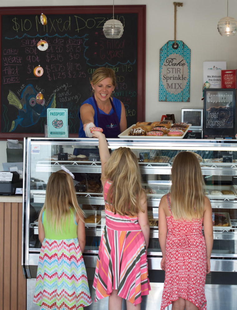 Celebrate the one-year anniversary of the Butler County Donut Trail in Ohio with a free t-shirt that can be earned by visiting all nine family-owned donut shops on the trail.