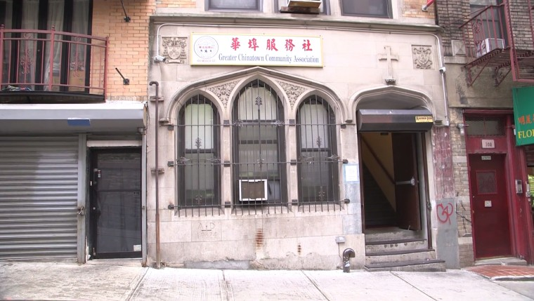 The exterior of the Greater Chinatown Community Association located in New York City.