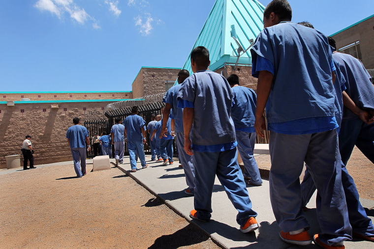 Undocumented Immigrants Await Deportation At Arizona Detention Centers