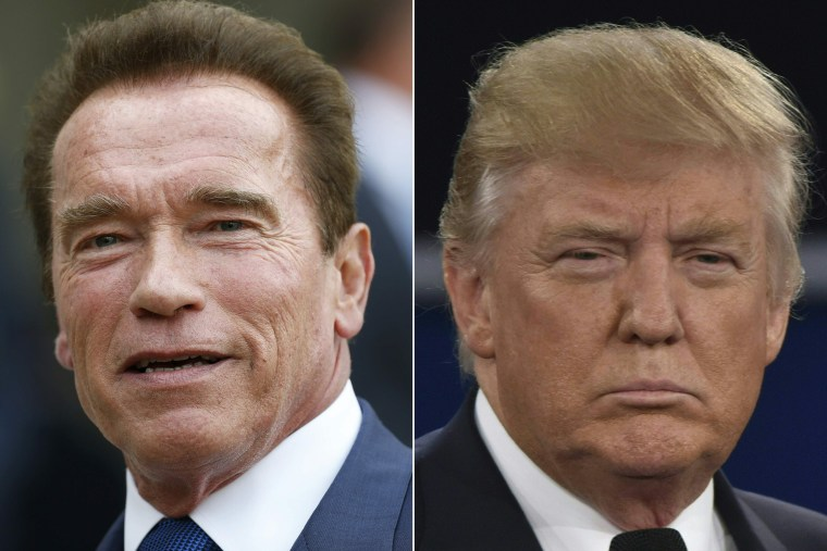 Image: FILES-COMBO-US-ENTERTAINMENT-TELEVISION-SCHARZENEGGER